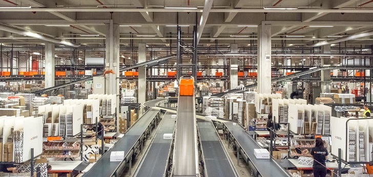 Zalando warehouse