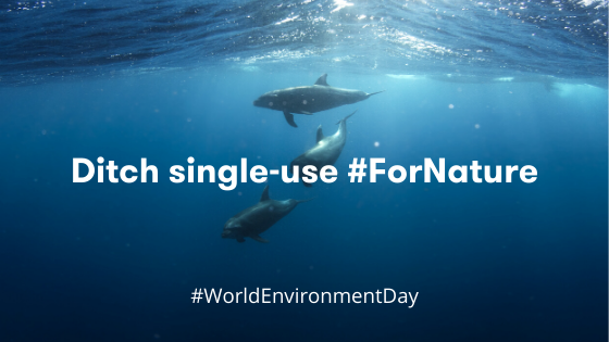 No one likes trash. For World Environment Day, ditch single-use.