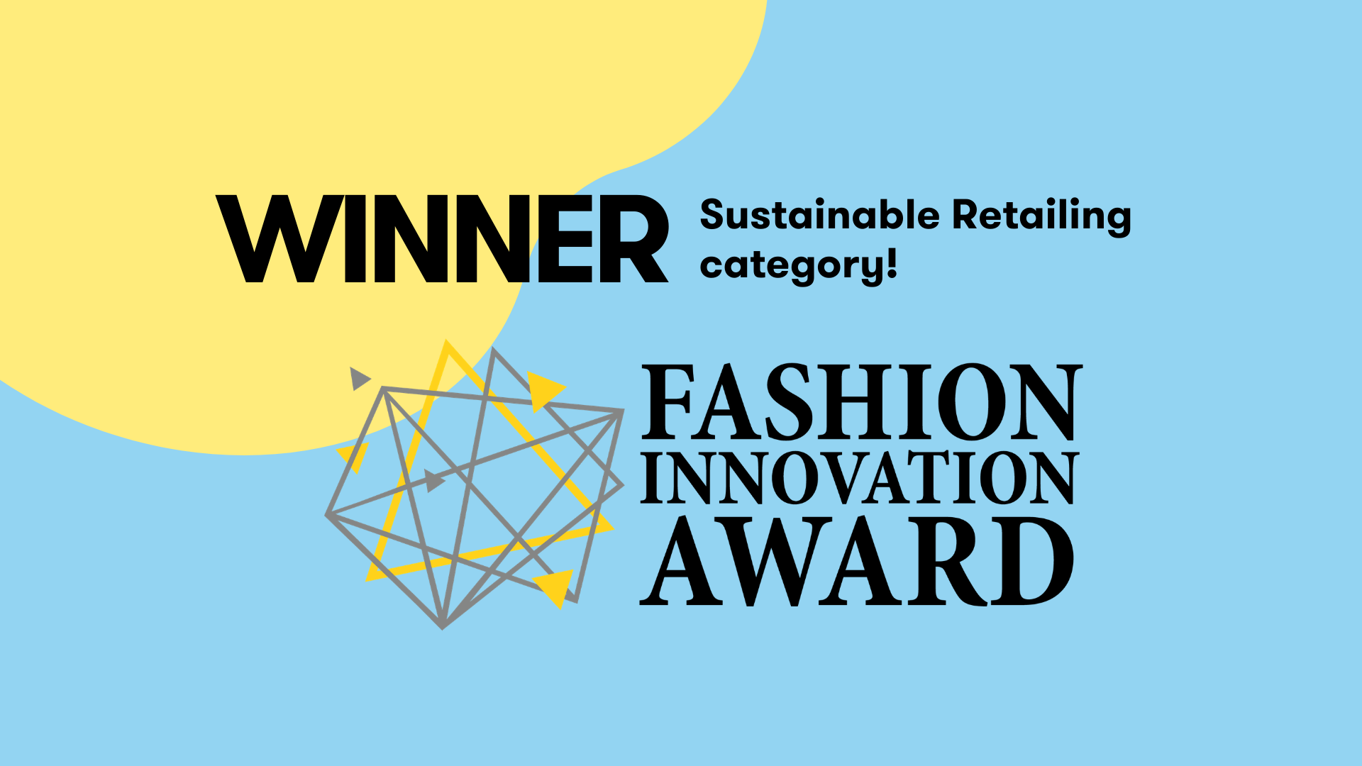 RePack Winner of the Loomish's Fashion Innovation Award!