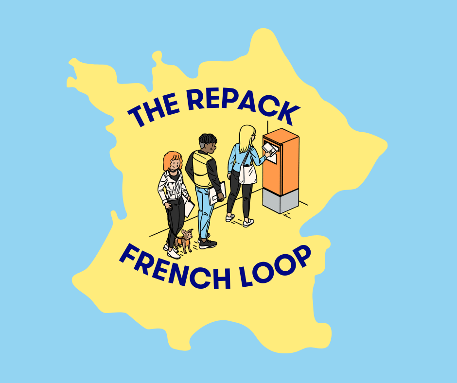 RePack and La Poste cooperate to decentralize reuse in France with the #FrenchLoop