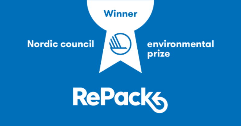 RePack is the winner of the Nordic Environment Prize 2017