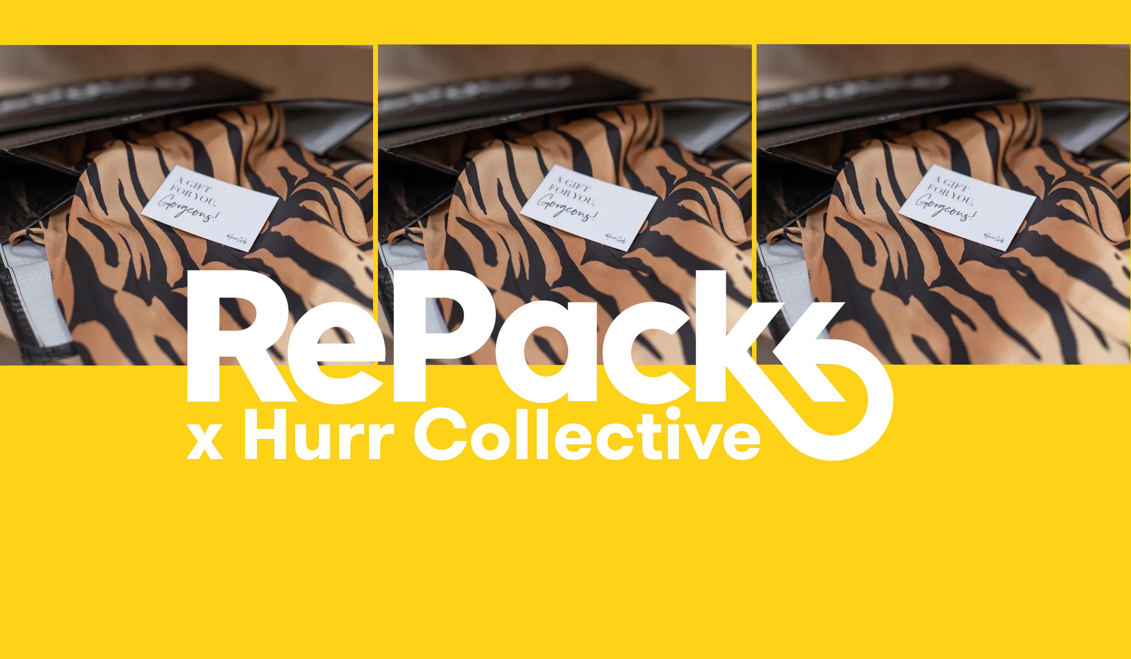 HURR x RePack - If you like it, rent it.